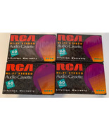 VHS Video Cassette Tapes Lot of 4 Sealed Tapes Durabrand and Rca - $14.01