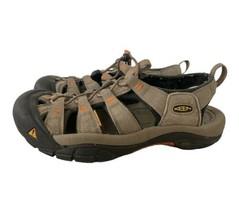 Keen Water Shoes Slip On Sandals w Safety Toe Brown Beige Men 7.5 Women ... - $27.70