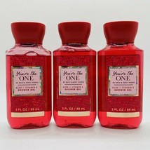 3-Pack Bath & Body Works YOU'RE THE ONE Shower Gel 3 fl.oz Travel Size - $17.77