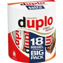 Ferrero DUPLO Chocolate bars-Made in Germany-XL 18 bars FREE SHIPPING - $17.81