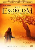 The Exorcism of Emily Rose Unrated Edition DVD