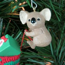 Vintage Koala Christmas Stocking Ornament Hallmark Keepsake 1990 image 11