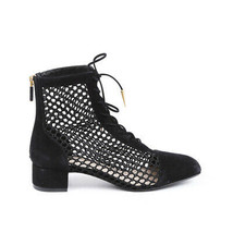 Christian Dior Naughtily-D Fishnet Ankle Boots SZ 36.5 - €885,44 EUR