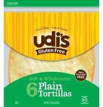 Udi's Gluten Free Large Tortillas (Case of 10) - $88.52
