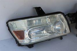 04-10 Infiniti QX56 Xenon HID Headlight Head Light Lamps Set LH & RH -POLISHED image 3