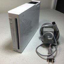 Nintendo Wii White Console And Wall Plug Only Working Replacement GameCube - $29.74
