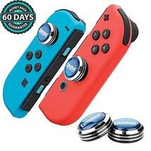Epindon CQC Thumb Grips, Analog Sticks Caps for Nintendo Switch Joy-Con - Navybl - $15.17