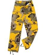Camouflage Military BDU Pants, Army Cargo Fatig... - $27.99