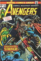 The Avengers Comic Book #124 Marvel Comics 1974 VERY FINE - $18.30
