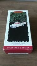 HALLMARK 1955 CHEVROLET CAMEO Pickup Keepsake Ornament dated 1996 NIB Ch... - $13.99