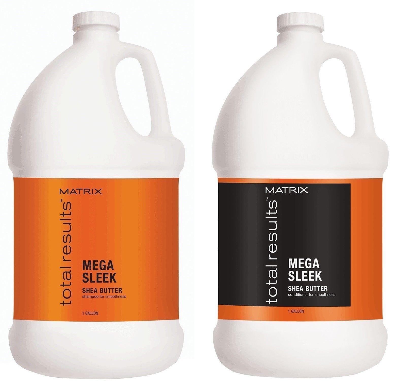 Matrix Total Results Mega Sleek  Shampoo Conditioner Gallon Duo