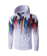 Mens Fashion 3D Multi Colorful Printing Sweatshirt - $69.99