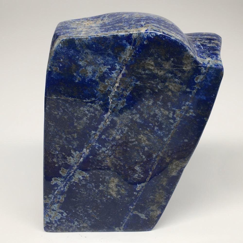 "5.8""x3.6""x1.5"", 1028g,Natural Polished Freeform Lapis Lazuli @Afghanistan,PL114"