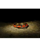 Dark Art DEMONIC RED DRAGON WEALTH PROTECTION Antique Bronze Ring izida haunted - $123.00