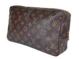Auth Louis Vuitton Trousse Toilette 28 Monogram Canvas Cosmetic Pouch Bag LP2533 - $210.00