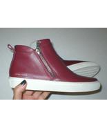 New Womens Zipper Shoes Fashion Casual Sneakers 7.5 Dark Red Skechers Zi... - $62.00