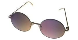 Kenneth Cole Reaction Mens Sunglass Round Gold Metal Gradient Lens KC132... - $17.99