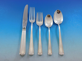 Embassy Scroll by Lunt Sterling Silver Flatware Set for 8 Service 40 pieces - $3,559.05