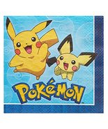 American Greetings - 5877207 Pokemon Paper Lunch Napkins for Kids (16-Co... - $4.89