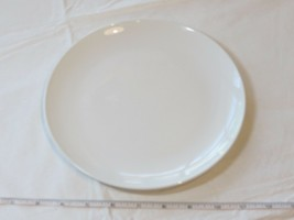 "Corning Centura White Coupe Salad / Dinner Plate 8 5/8"" 1 Plate Vintage - $13.35"