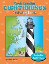 North Carolina Lighthouses Coloring Book (North Carolina Experience) [Paperback] image 1