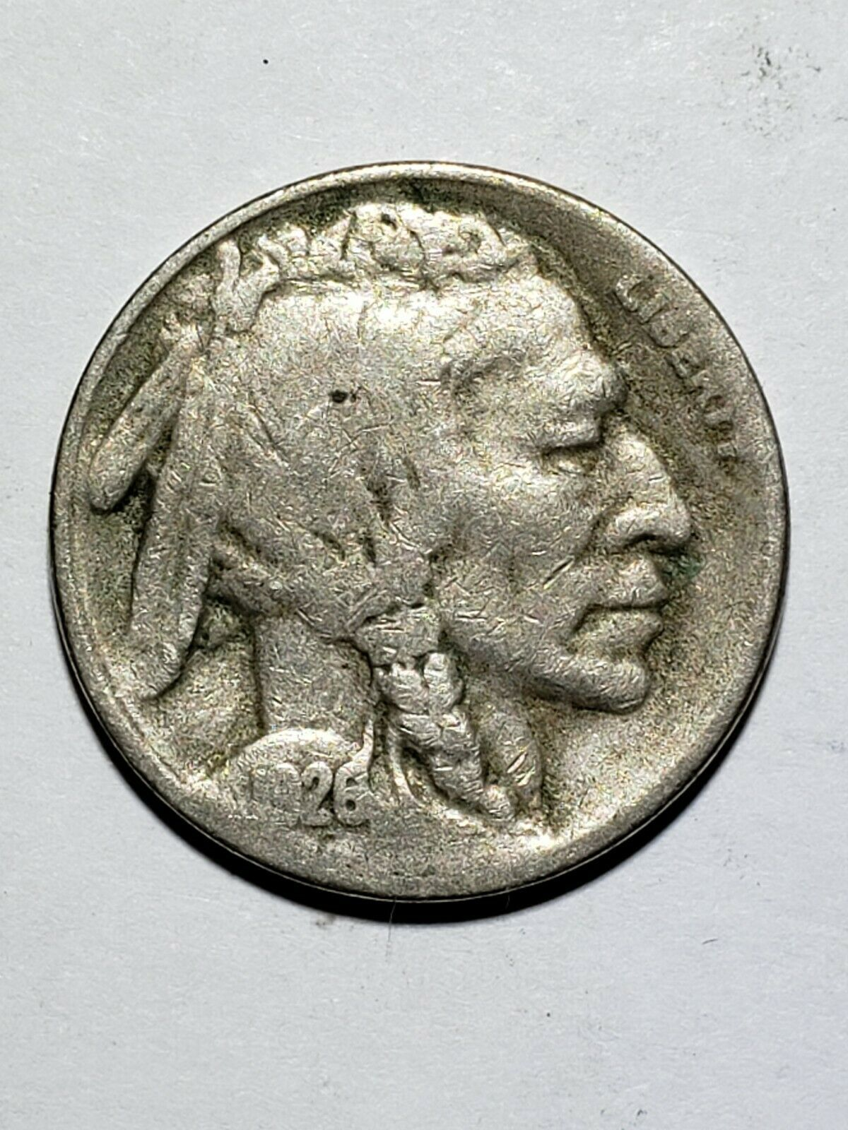 1926S Semi Key Date  Buffalo Nickel  Coin 319-37