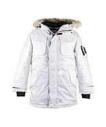 TIMBERLAND NORDIC EDGE EXPEDITION MEN'S WHITE WATERPROOF PARKA #A1XXT-100 - £129.75 GBP