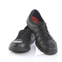 Skechers Work Black Relaxed Fit Fashion Sneakers Slip On Memory Foam Wom... - $24.61