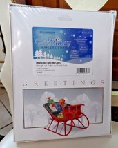 WilliamHouse Imprintable Greeting Cards -  Sleigh of Gifts - $12.00