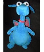 Disney Doc McStuffins Stuffy Dragon Blue Plush Stuffed Animal Talking Talks - $18.78