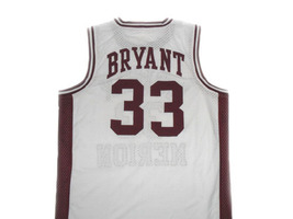 Kobe Bryant #33 Lower Merion High School Basketball Jersey White Any Size image 4