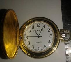 Vintage Pocket Watch - Hanslin Quartz Pocket Watch 160-4PW13 - Very Clas... - $15.00