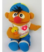 1997 Tyco Sesame Street Ernie Magic Lights Music I Love Duckie Vintge Ji... - $27.84