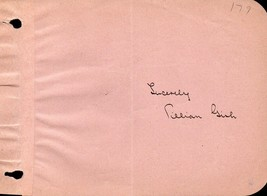 LILLIAN GISH Autograph. Nicely signed on album page. Birth of a Nation. - $39.59