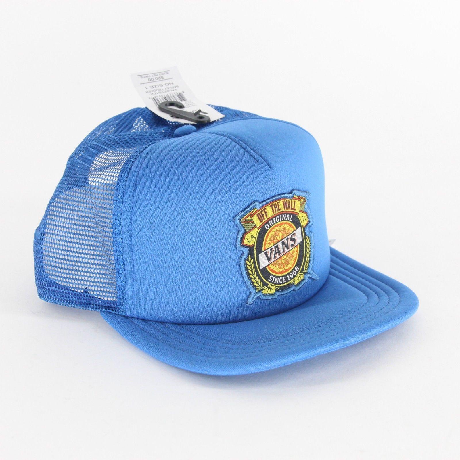 e07673300e8ec2 S l1600. S l1600. Previous. Vans Off The Wall Barley Trucker Blue Mesh  Adjustable Snapback Hat Cap