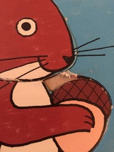 Vintage 70s Jaymar squirrel puzzle- art by Mary Warren image 7