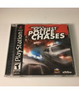 Worlds Scariest Police Chases (Sony Playstation 1, 2001) PS1 Complete - $15.63