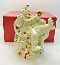 "Lenox Holiday Santa Teapot 6047484 10"" - $55.99"