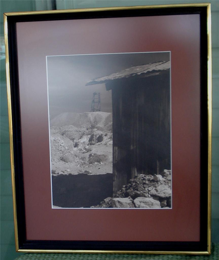 Professionally Framed and Matted Firth Photograph, 1974, VG COND