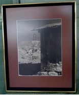 Professionally Framed and Matted Firth Photograph, 1974, VG COND - $29.69