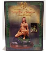 "Moore Creations Frazetta's Princess 10"" Porcelain Statue Clayburn Moore - $159.99"
