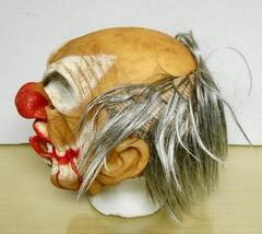 BY B.Y.- Old Clown /w Blood & Hair Latex Mask - $14.84