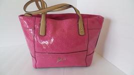 Guess Pink Shoulder Bag/ Tote Bag - $97.95
