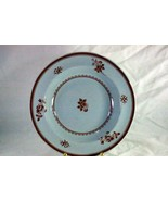 "Spode Gloucester Red Rimmed Soup Bowl C1813/W89Y2989 9"" Finestone - $18.89"