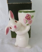 Avon, Sunny Bunny Candle Holder, circa 1981, New Old Stock in Box - $16.00