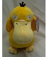 "Nintendo Pokemon VERY SOFT PSYDUCK 8"" Plush STUFFED ANIMAL Toy NEW - $19.80"