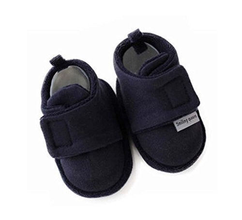 Set of 2 Comfortable Newborn Shoes Warm Cotton Shoes Baby Toddler Soft Sole Shoe