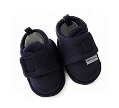 Set of 2 Comfortable Newborn Shoes Warm Cotton Shoes Baby Toddler Soft Sole Shoe