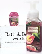 Bath and Body Works Watermelon Lemonade Hand Soap & PocketBac Retired HT... - $20.22