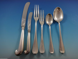 Queen Anne-Williamsburg by Stieff Sterling Silver Flatware Set 8 Service 50 Pcs - $3,995.00